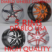 diablo usa rims 3D model