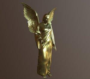 angel printing 3D model