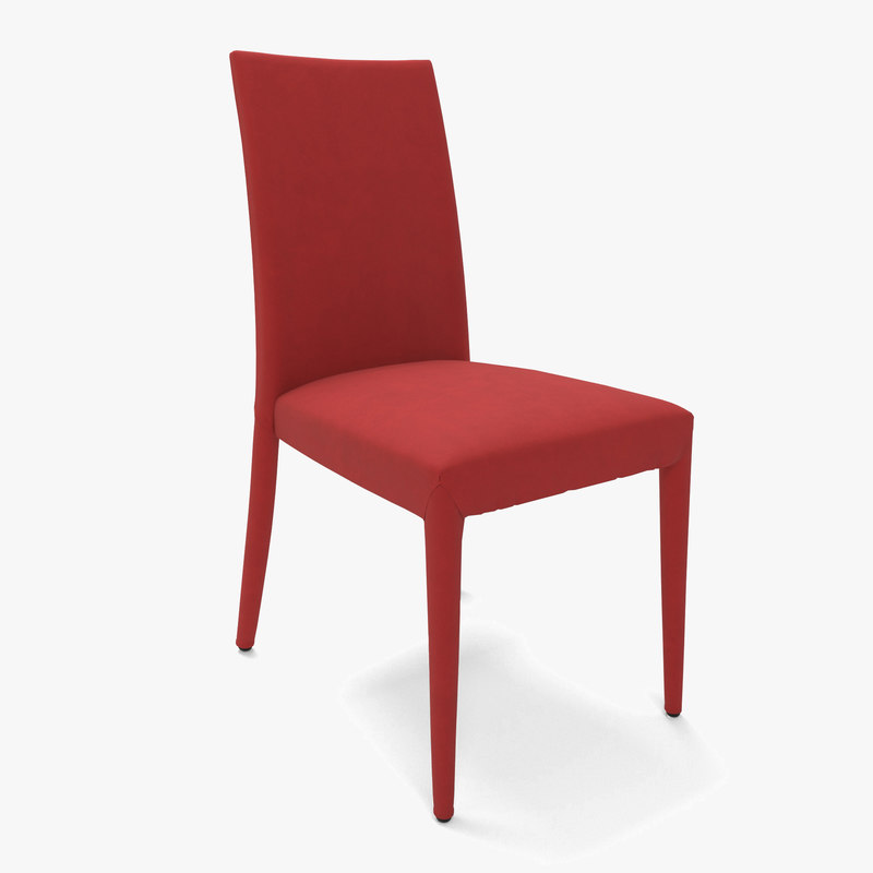 calligaris chair anas 3D model
