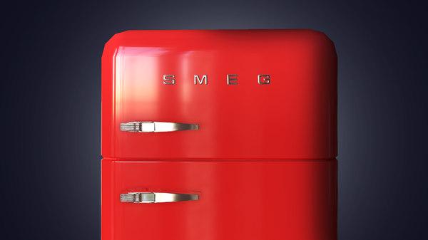 3D smeg fridge