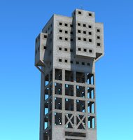 3D shime tower