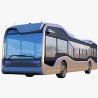 3D mercedes benz future bus