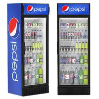 pepsi refrigerator 3D