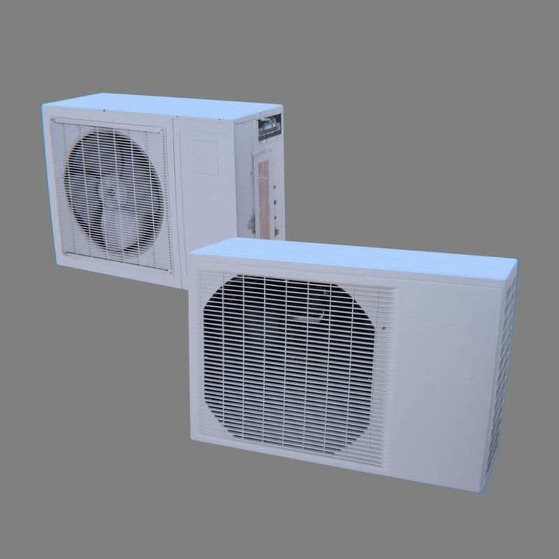 3D air conditioners model