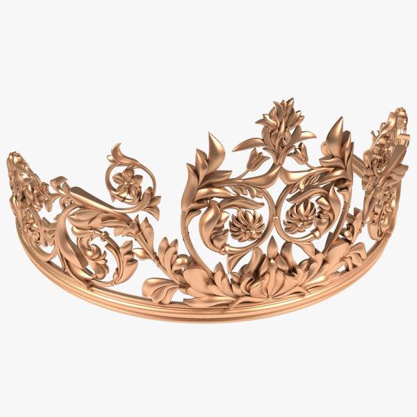 3D tiara x1