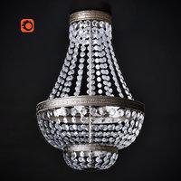chandelier interior design 3D model