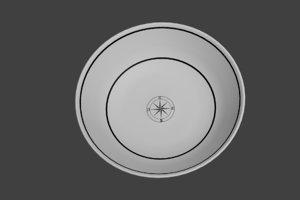 sailor plate 3D