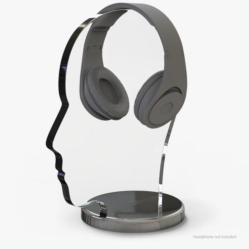 headphone stand v 2 model