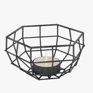 3D model tea decor