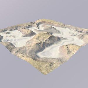 desert canyon 3D