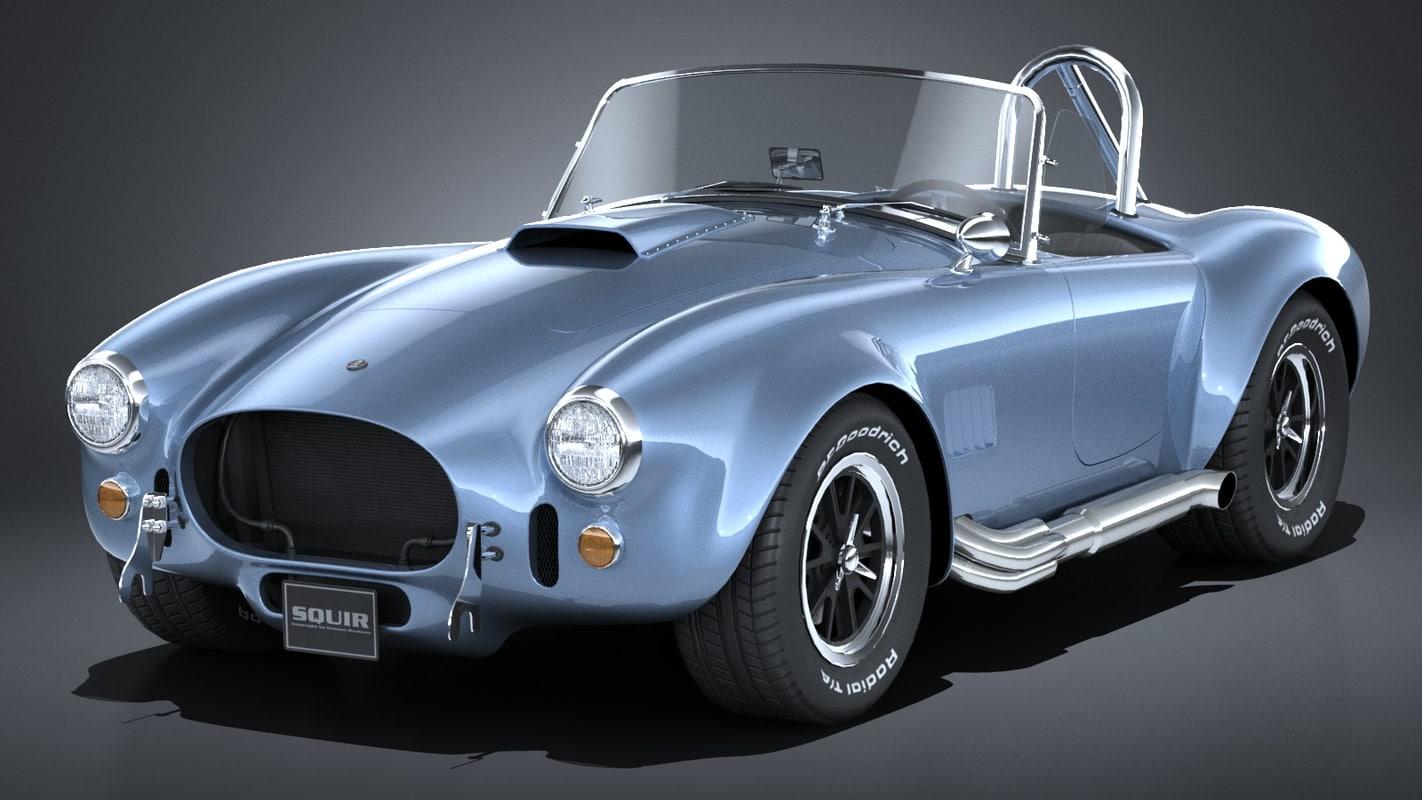 shelby cobra 427 3D model