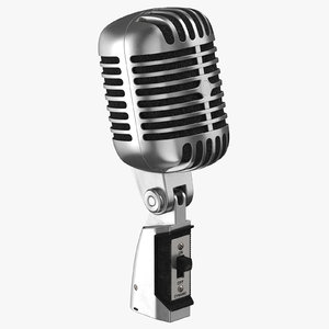 3D microphone 02 model