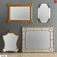 3D model mirror set 04