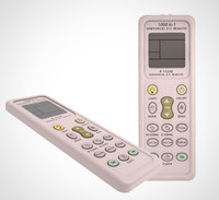 air conditioner remote 001 3D model