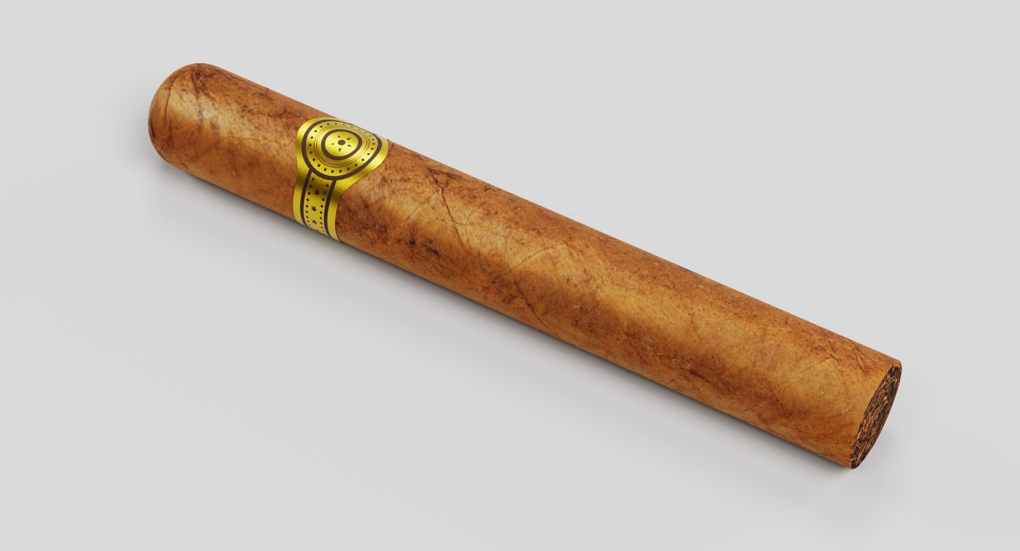 Cigar 2 3d Model Cigar 2 3d Model