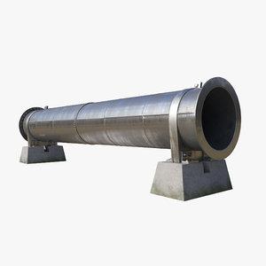 3D pipeline segment