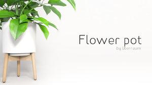 plant pot 3D