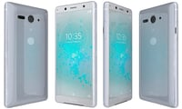 3D sony xperia xz2 compact