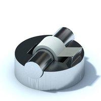 3D model office gadget
