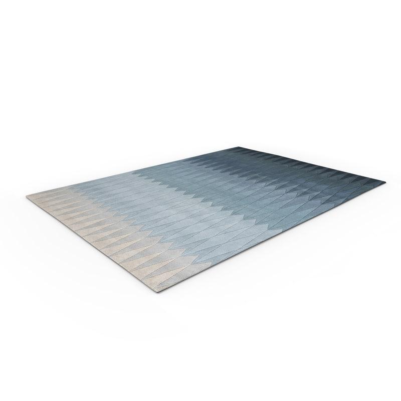 arguto floor rug 3D model