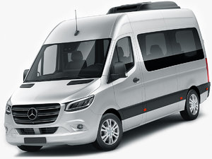 mercedes sprinter tourer 2018 3D