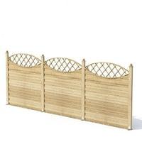 garden fence 3D