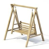 garden swing model
