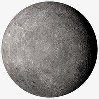 earth moon 16k 3D model