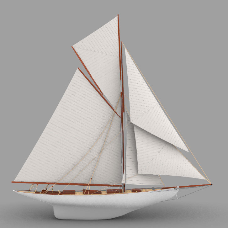 3D fife moonbeam iii model