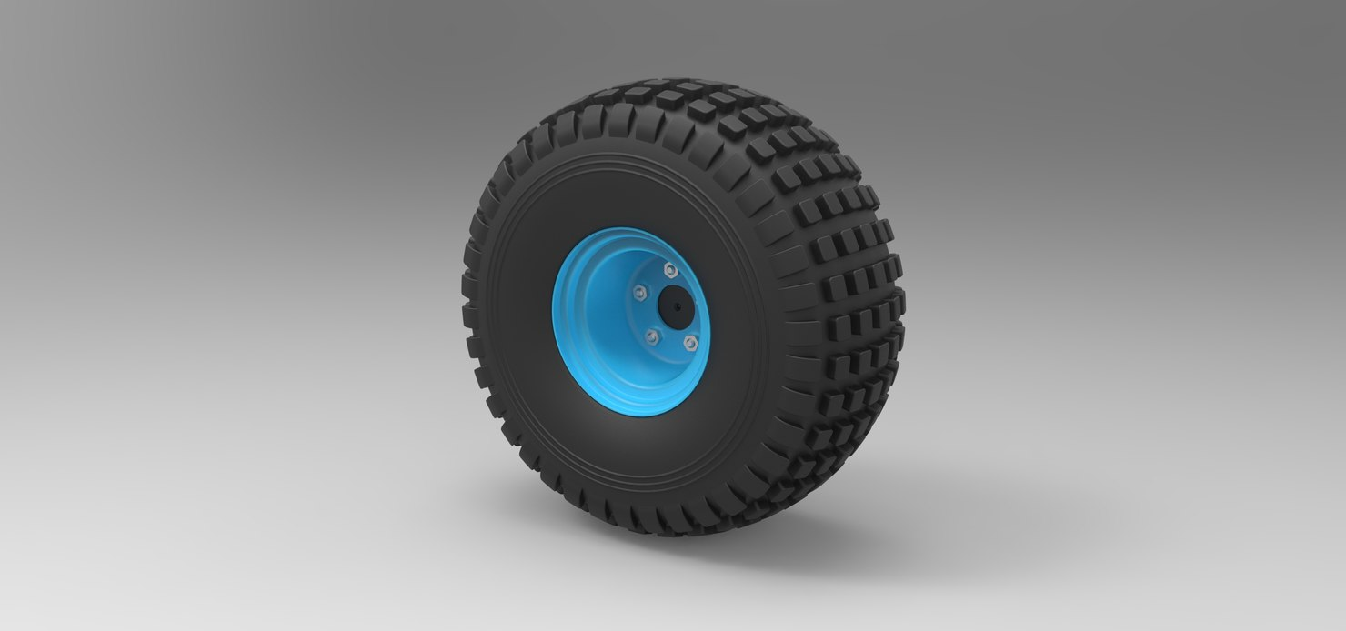 wheel offroad 3D model