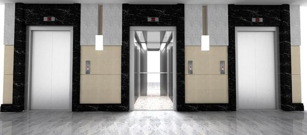 Elevator 3D Models for Download | TurboSquid