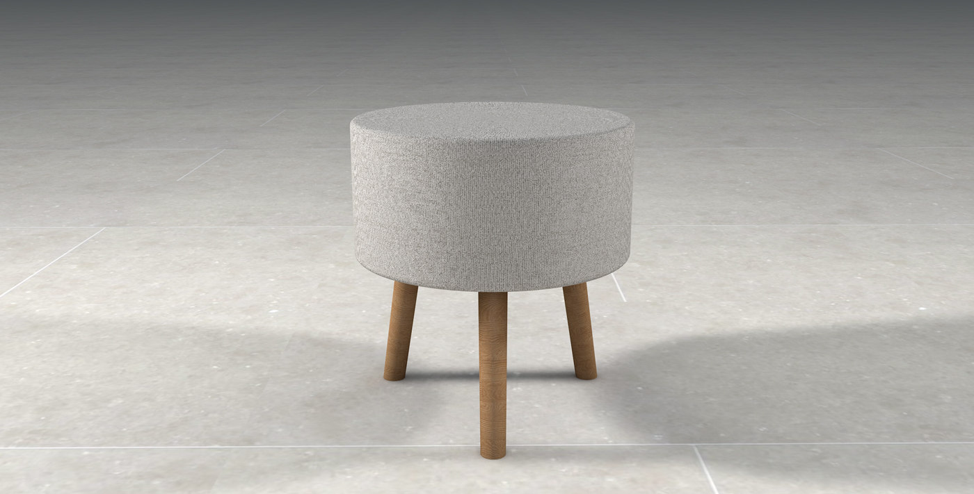 seat table fabric 3D