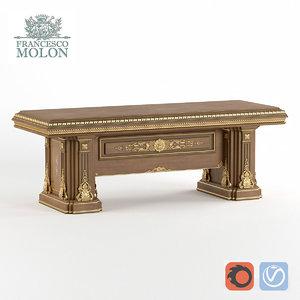 3D model table classic