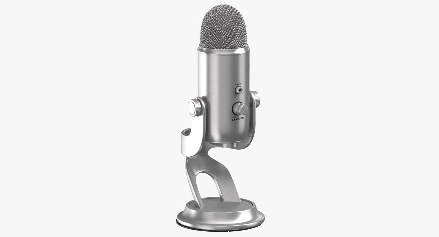 3D model microphone 03