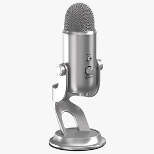 3D model microphone 03