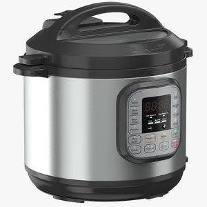 pressure cooker 03 3D model