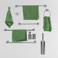 spirella towels 3D model
