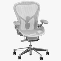 3D herman miller aeron chair
