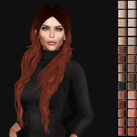 hairstyle second life 3D model