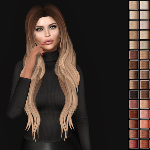hairstyle second life 3D