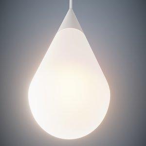 3D modern led lamp