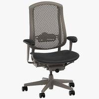 herman miller celle chair 3D model