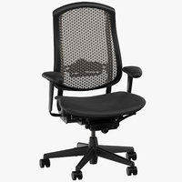 3D model herman miller celle chair