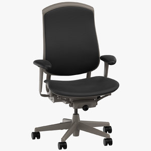 3D herman miller celle chair model