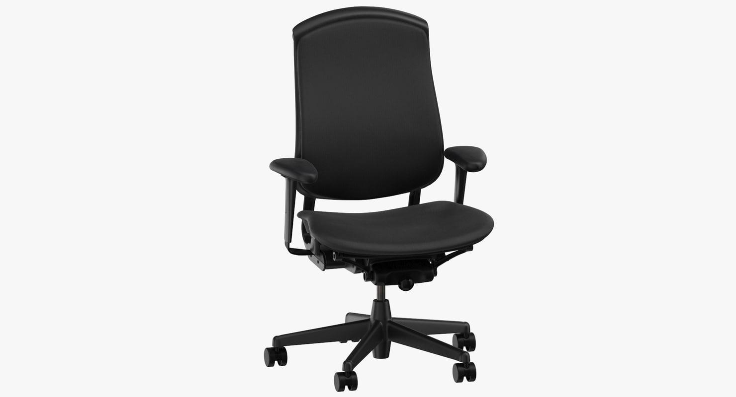 herman miller celle chair 3D model