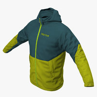 3D winter sport jacket