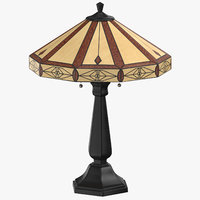 classical table light 3D model