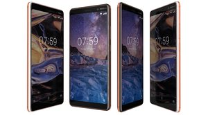 3D model nokia 7 colors