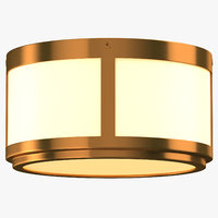 Mid-Century Modern Ceiling Light On