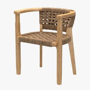 3D chair seamoor